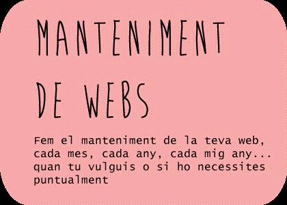 manteniments