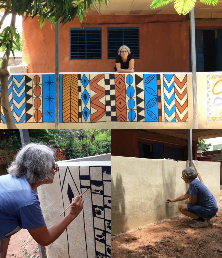 Montse Roldos-collage MuralBurkina