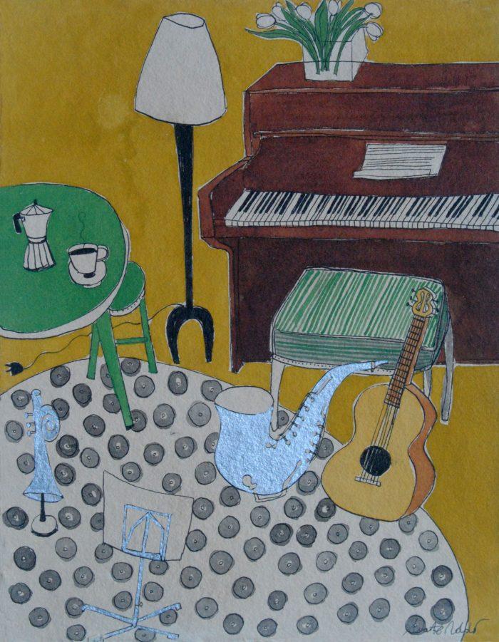 Piano i guitarra