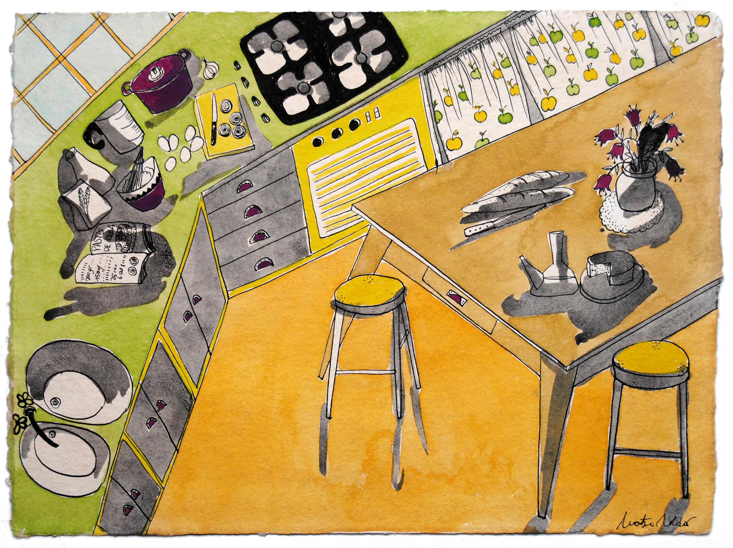 Cuina en grocs- Montse Roldos